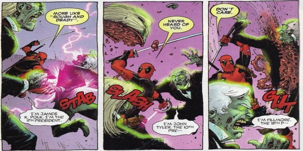 Mmmm...Deadpool's recipie for Presidential Guacamole simply can't be beat!