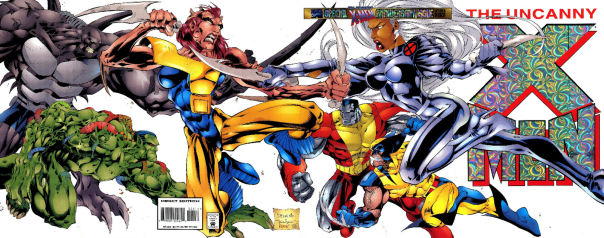 Oct. 95 X-Men Anniv Composite