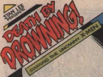 I have no confirmation of this whatsoever, but looking through the issues, it looks like Jim Shooter or someone had them tone down the nonstop exclamation points on the issue titles. But they eventually came back, as seen in this issue featuring the first appearance of Mister Sinister.