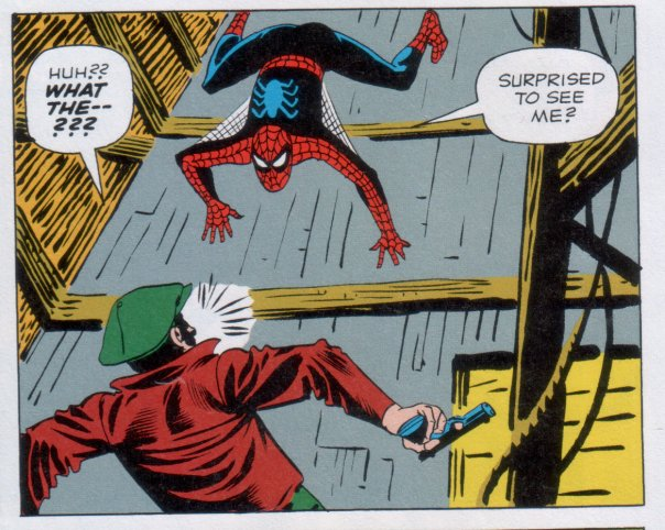 Steve Ditko's creepy Spider-Man