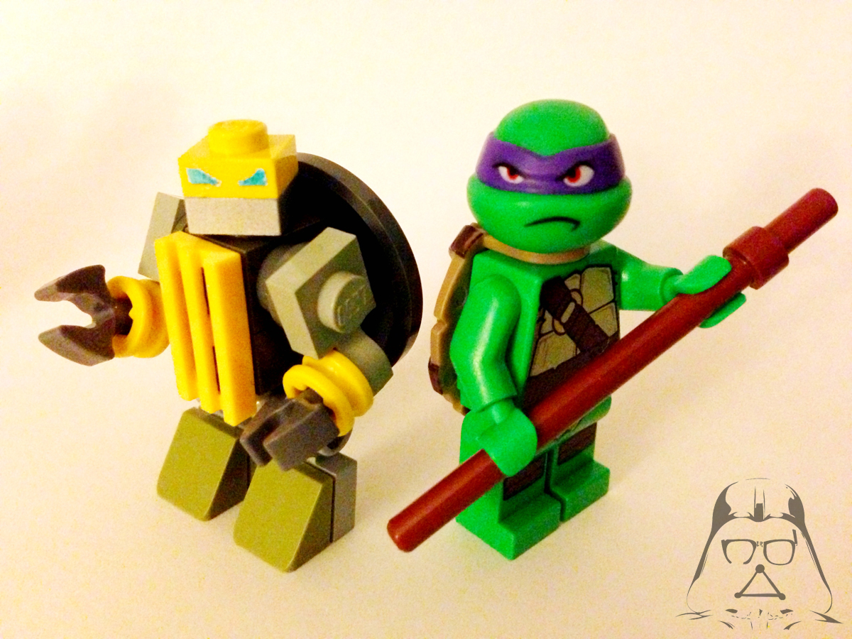 Lego Teenage Ninja Turtles Toys : Homemade tmnt legos quot the brotherhood of evil geeks