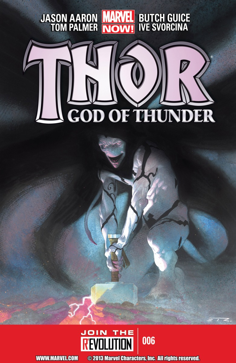 """Evil Geek Book Report – Thor God of Thunder # 6 