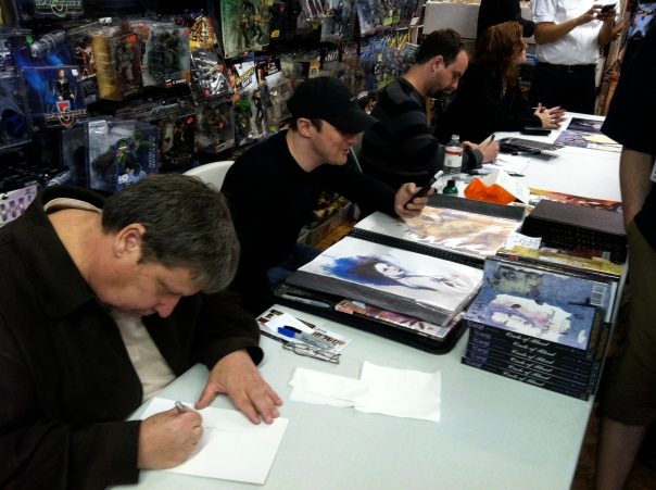 Bill Willingham, David Mack and Tim Seeley and Don Rosa