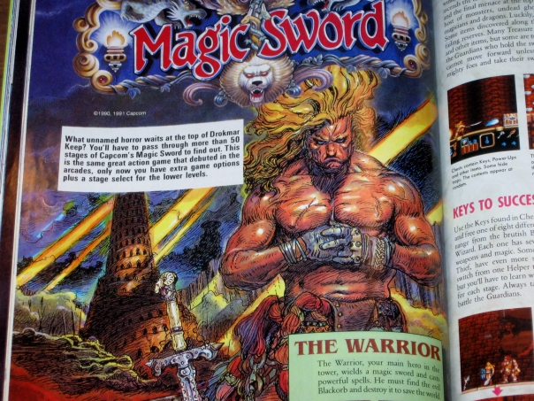 Or the homoerotic adventures of Magic Sword.  All joking aside, this was a pretty damn good game!