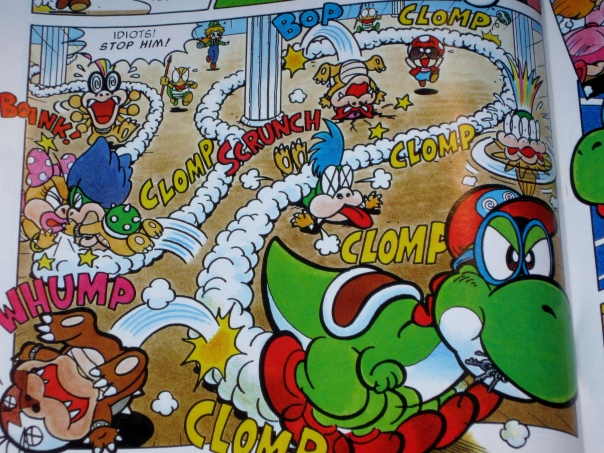 Something tells me this isn't the last time Mario used Yoshi to sneak a Key out of someplace.
