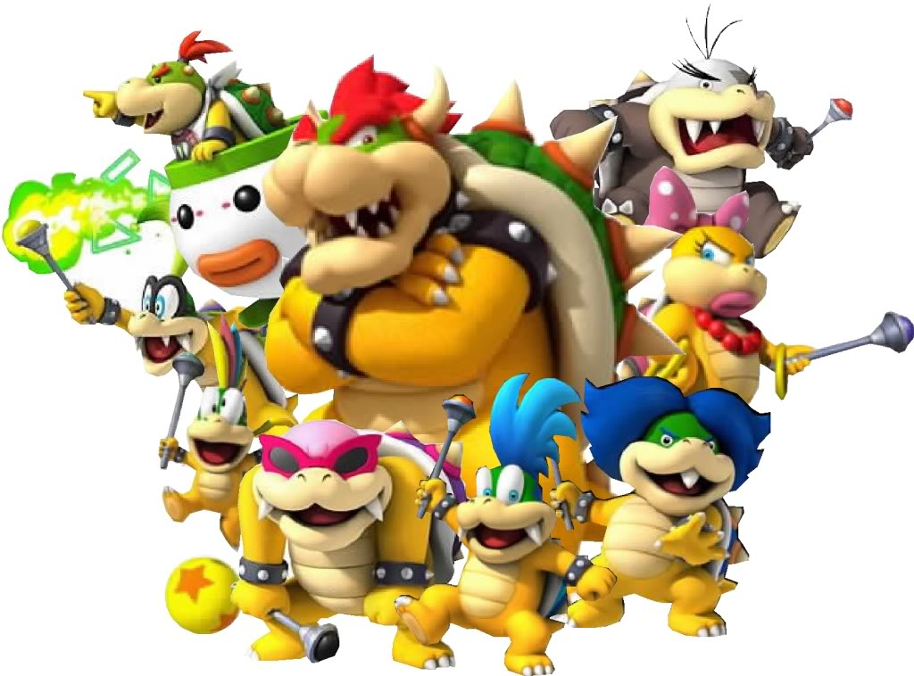 Bowser Proud papa of at least one�