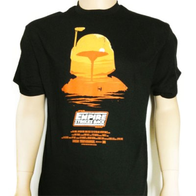 Win this kick-ass shirt featuring the place where Han Solo got screwed over and the guy who sold him into art slavery!