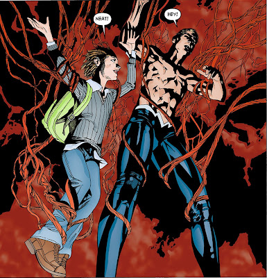 animal man into the red