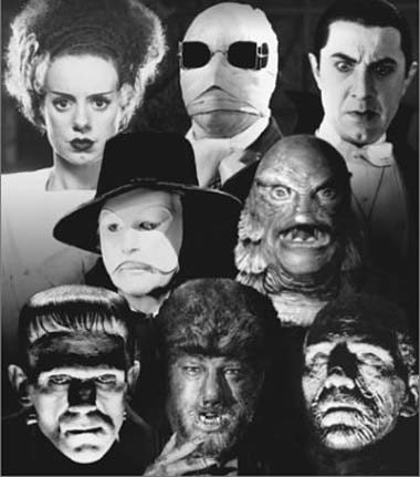 Image result for group of monsters