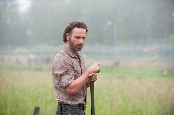 Ironically, Rick really hated playing Farmville before the zombies came.