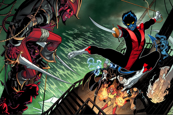 Wolverine and Nightcrawler Amazing