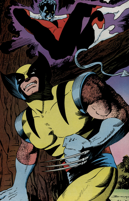Wolverine and Nightcrawler Tag