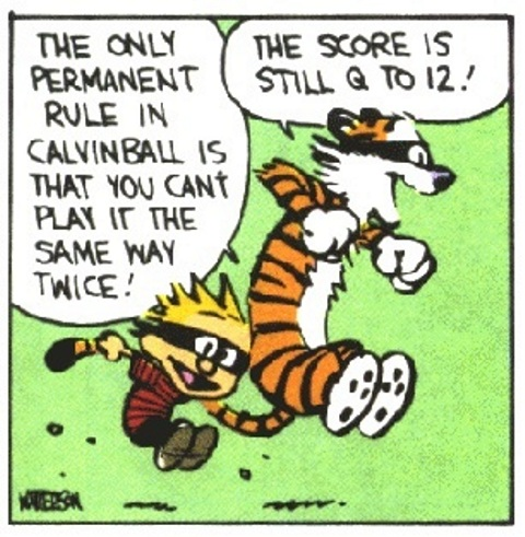 It would be quite a hard decision if I had to chose between playing quidditch vs. calvinball.