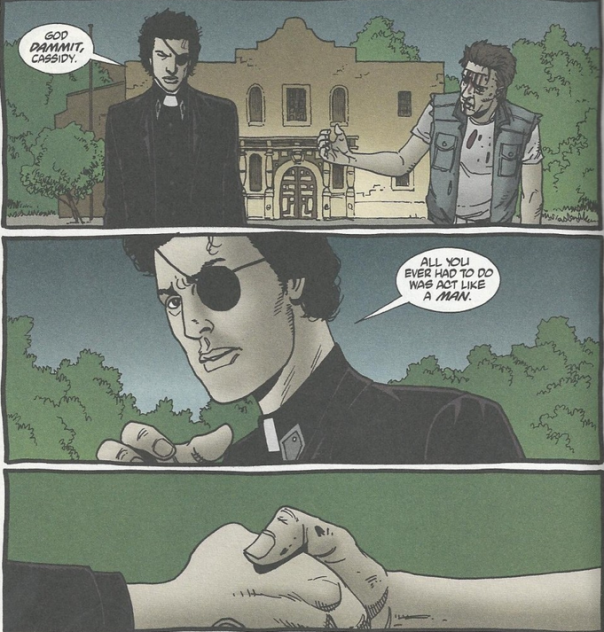 Jesse Custer and Cassidy 5