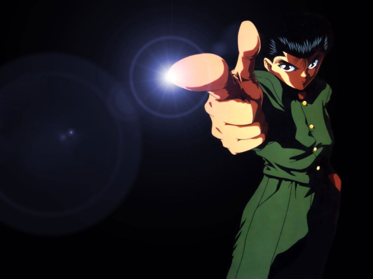Yu Yu Hakusho Yusuke Demon Wallpaper Yu Yu Hakusho tells the story