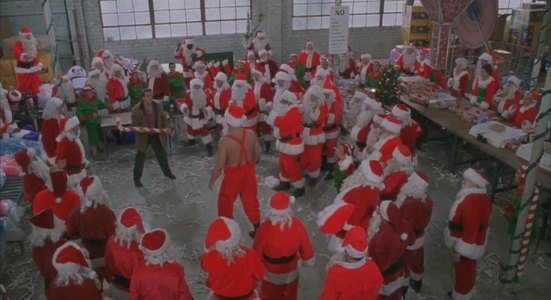 jingle santa fight