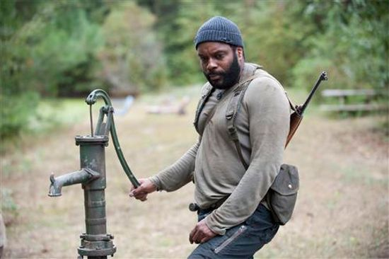"For the life of him, Tyreese just couldn't figure out why the lyrics to ""Pump It Up"" were suddenly stuck in his head."