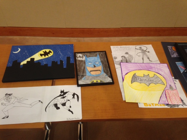 Here's an example of some of the different art pieces from all ages in the community.