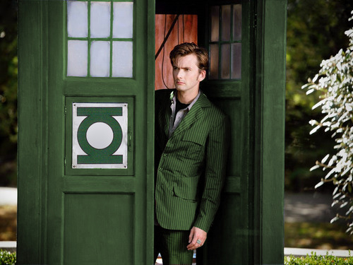 green lantern doctor who
