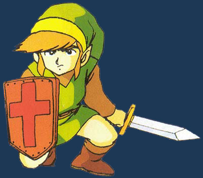 link-crouching