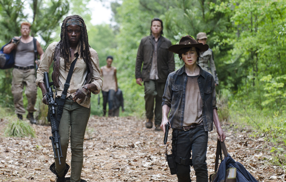 Michonne's favorite new family...