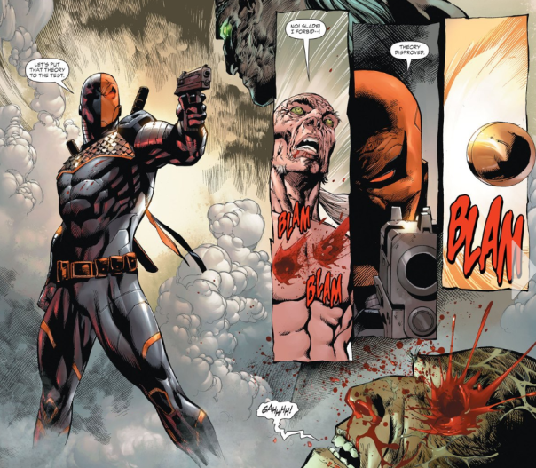 deathstroke theory disproved