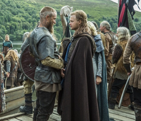ragnar and borgs kid
