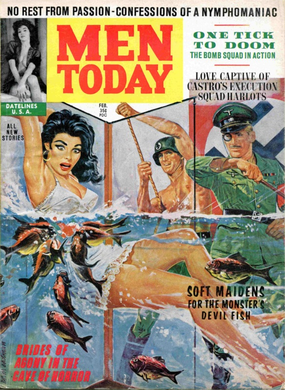 Men Today - 1963 02 February - Nazi torture cover scan-8x6