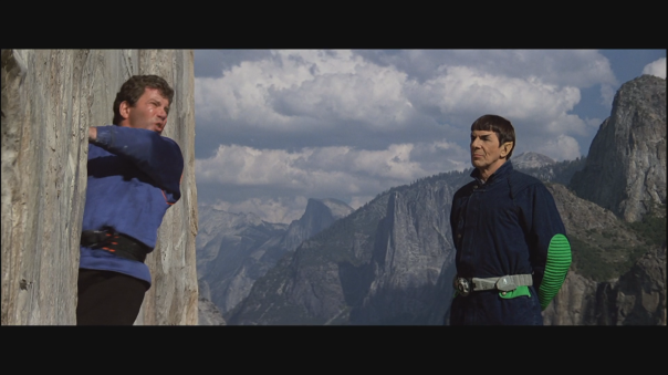 really? out of shape Kirk climbing a mountain?!?!
