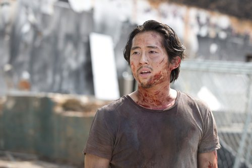 Steven Yeun as Glenn Rhee - The Walking Dead _ Season 6, Episode 7 - Photo Credit: Gene Page/AMC