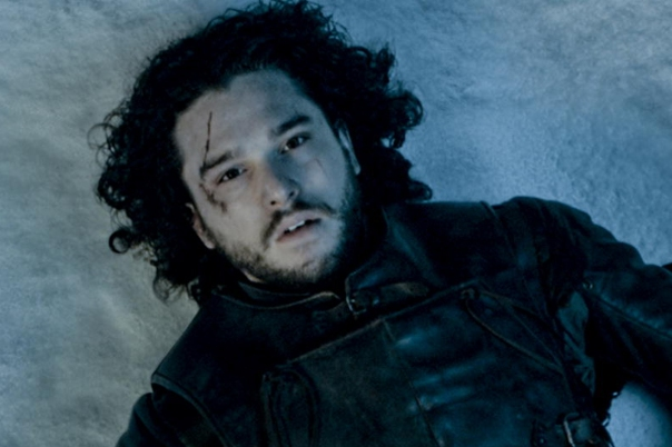 """TV STILL -- DO NOT PURGE -- episode 510 -- GAME OF THRONES, titled """"Mother's Mercy."""" Pictured: Kit Harington as Jon Snow Photographer: HBO"""